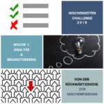 Nischenseiten-Challenge 2018 Woche 1